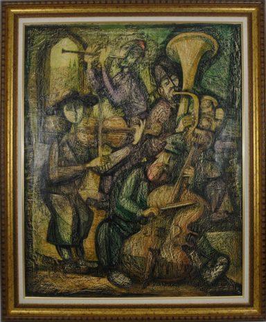Klezmer Band by Yossi Stern