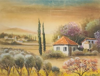 Little House on the Prarie by Zeev Dilon