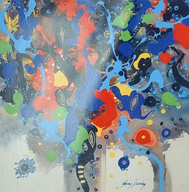 Giclee on Canvas 24 x 24 in by Janos Kardos