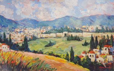 Giclee on Canvas 30 x 48 in by Janos Kardos