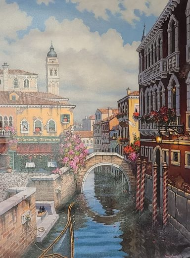 Giclee on Canvas 29.5 x 39.5 in by Janos Kardos