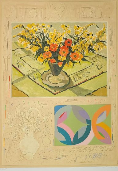 Serigraph on Paper 36 x 26 in by Michael Eisemann