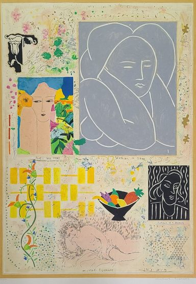 Serigraph on Paper 27.5 x 19.5 in by Michael Eisemann