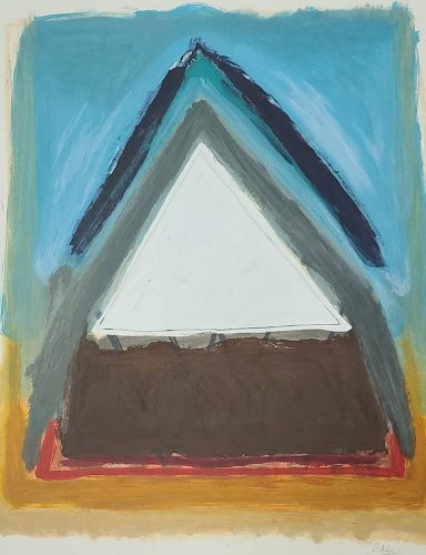 Serigraph on Paper 32 x 28 in by Unknown Artist
