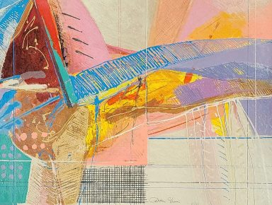 Serigraph on Paper 23.5 x 31 in by Calman Shemi
