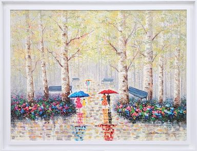Flowers In The Park by Solomon