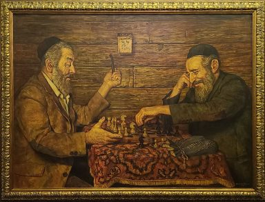 Erev Pesach by Boris Dubrov