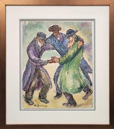 Hassidic Dancing by Chaim Goldberg