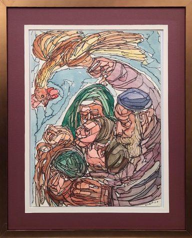 Tashlich by Chaim Goldberg