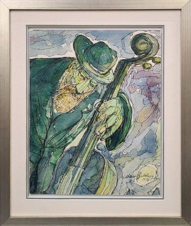 The Rabbi and His Cello by Chaim Goldberg