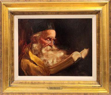 Donald James Zolan: Rabbi Meditating