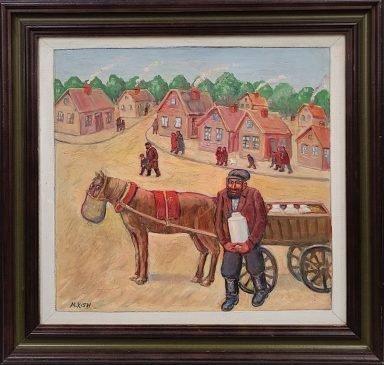 """Tevye"" The Milkman by Maurice Kish"