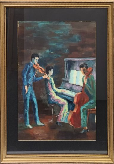 The Pianist by Maurice Kish