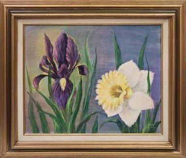 Lillies by Rachel Gilboa