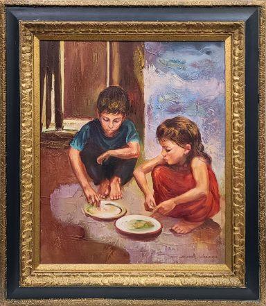 Dinner Time by Sandu Liberman