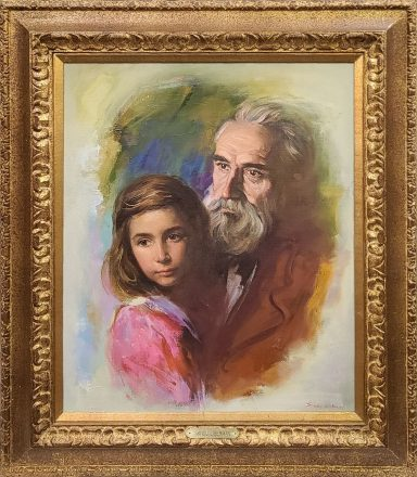 Father and Daughter by Sandu Liberman