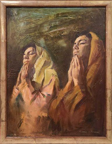 Motherly Prayers by Sandu Liberman