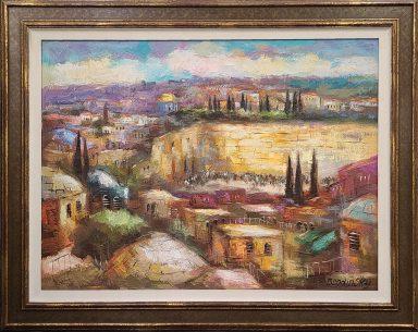 The Kotel by Slava Brodinsky