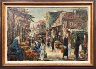 Jerusalem Market by Zvi Raphaeli