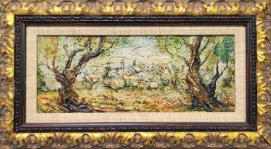 Overlooking jerusalem by Zvi Raphaeli